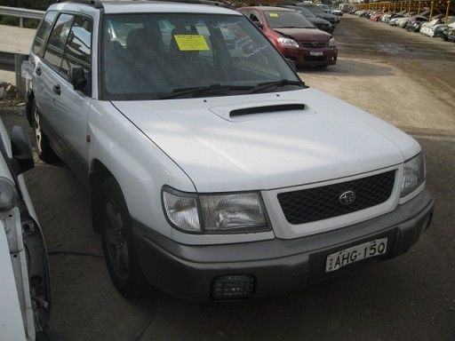 WRECKING PARTS SUBARU FORESTER GT TURBO MANUAL AUTO EJ20 SUNROOF