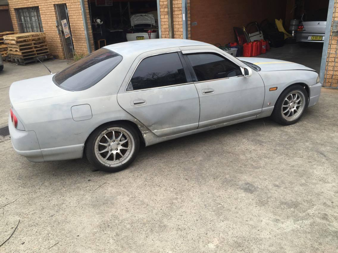 WRECKING NISSAN SKYLINE R33 GTST AUTO S2 ABS 1996 FRONT ...